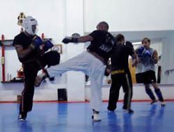 Combate Kick Sabaki