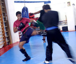 Kick Sabaki Karate